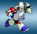 XON-001 Arcade Man by MSipher