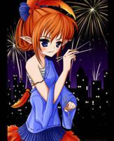 Rylix with chopsticks by Claui