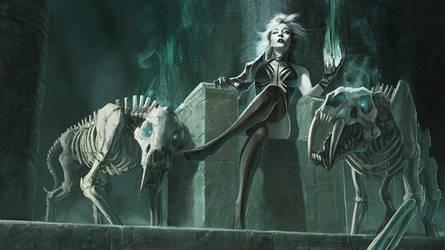 Queen Necromancer by lovingit2