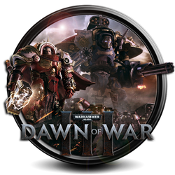 Warhammer 40 000 Dawn of War III png icon by S7 by SidySeven