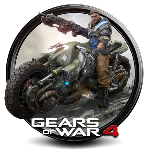 Gears of War 4 png icon by S7 by SidySeven