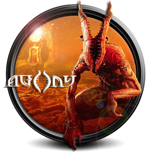 Agony PNG Icon by S7 by SidySeven