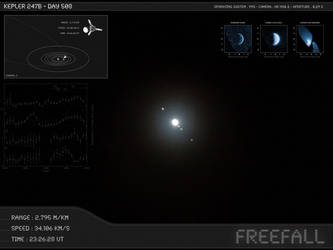 Kepler 247b - Day 508 - Capture 03 by Erwan-Corre