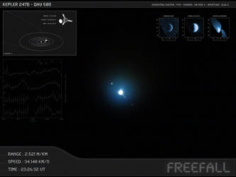 Kepler 247b - Day 508 - Capture 06 by Erwan-Corre