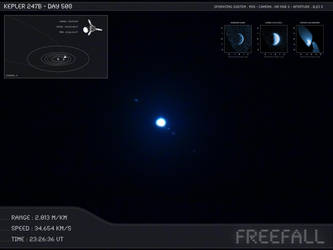 Kepler 247b - Day 508 - Capture 10 by Erwan-Corre