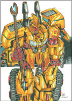 Sentinel prime by multi-comics