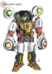 PROTECTOBOT- GROOVE by multi-comics