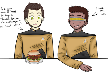 The Cheeseburger by brireyes