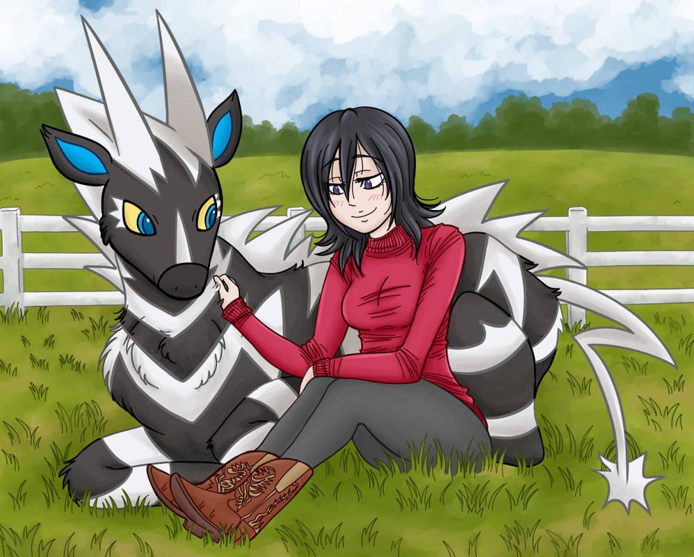 Rukia and her poke by brireyes