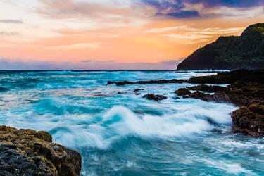 Makapuu and Rabbit Island, Oahu Hawaii by shod