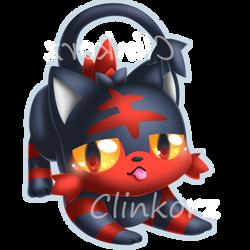 Litten by Clinkorz