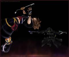 Sora vs Roxas - complete by Questofdreams