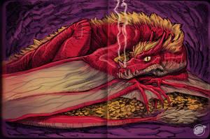 Greedy Dragon by estivador