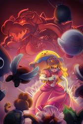 Super Princess Peach DS by estivador