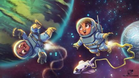 Space Party by estivador
