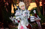 Mordred armor cosplay - Fate/Apocrypha Red Saber by DrosselTira