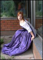 Lila Sitting II by Eirian-stock