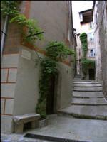 BG Medieval Street III by Eirian-stock