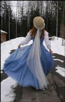 Bluebell Dress III by Eirian-stock