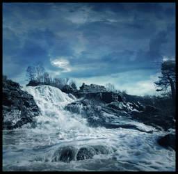 BG Blue Falls by Eirian-stock