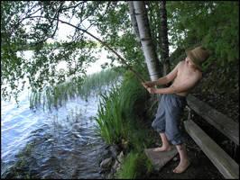 Angler - Big Fish by Eirian-stock