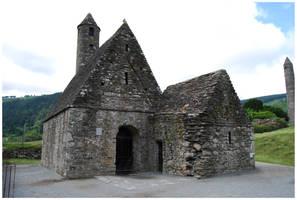 BG Saint Kevin's Church by Eirian-stock
