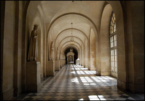 BG Hallway by Eirian-stock