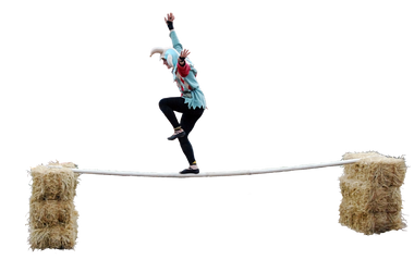 Balancing Act by Eirian-stock