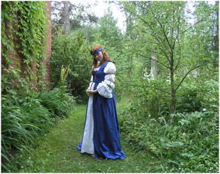 Lady In Blue II by Eirian-stock