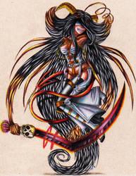 Mad Parasite demon by miyukiZETA