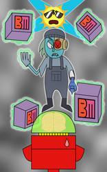 Lord BoxGhost (OK K.O./Danny Phantom Mashup) by PantaroParatroopa
