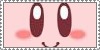 Kirby Stamp by TheEmptyCanvas