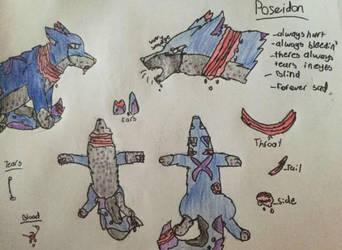 Poseidon(character bio) by ashpaw113