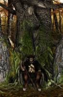 Cernunnos, the Hunter by Ionus