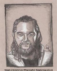 Bray Wyatt - Sketch Request by BadApple-Art