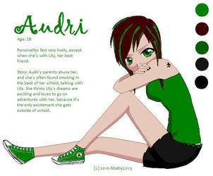 Audri Ref. Sheet by AbabyL0v3