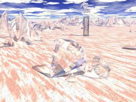 Diamond fields by chain