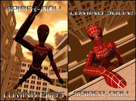 Spider-doll posters by chain