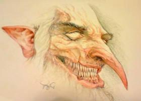 Half goblin by Azurenex
