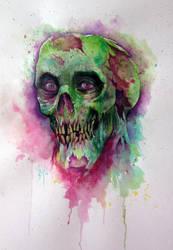 Zombie by Azurenex