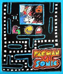 Sonic vs. Pacman by Teh-DG