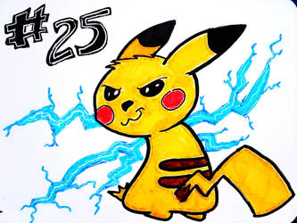 Pikachu from Memory by Teh-DG