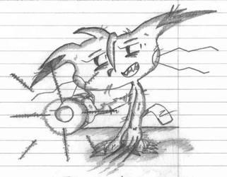 Pikachu by Teh-DG