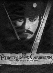 Jack Sparrow II by Melisende-FairyKiss