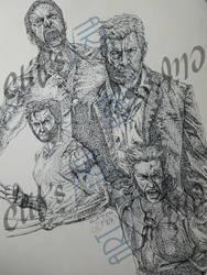 Logan Pointillism by clifthammavongsa