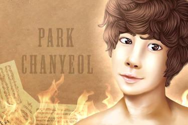 EXO's Chanyeol by Coconut-Polarbear