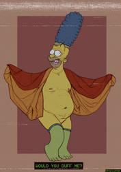 Homer Saturday by DanDanDanTheMan