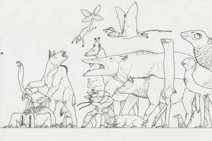 Bestiarium somniandi II by juniorWoodchuck