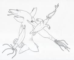 Aquamoles by juniorWoodchuck