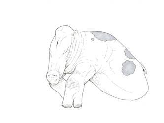 Cow, 24th century by juniorWoodchuck